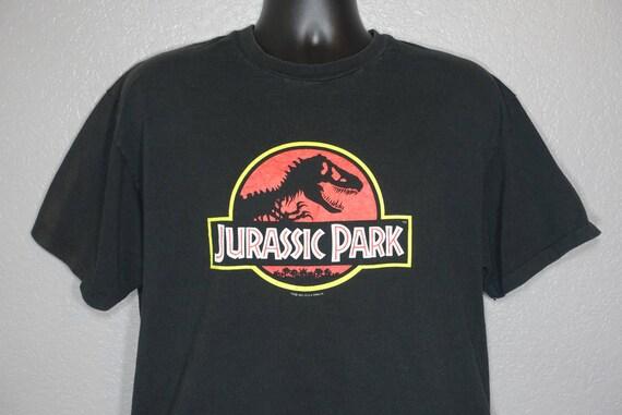 1992 Jurassic Park Logo Vintage T-Shirt