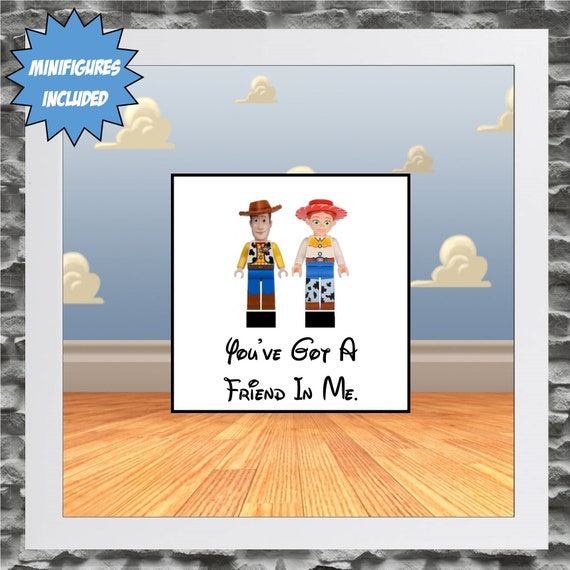 Woody And Jesse Minifigure Frame