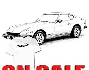 40% OFF Sale Datsun 240 Z T Shirt 260 Z 280 Zx 300 Zx Nissan 370
