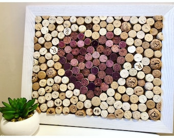 Red Heart Cork Board 13 x 16