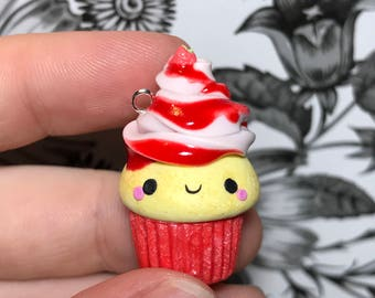 Polymer Clay Cupcake.