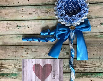 fairytale wedding wand bouquet once upon a time wedding happily ever after wedding something blue whimsical wedding  alternative  bouquet