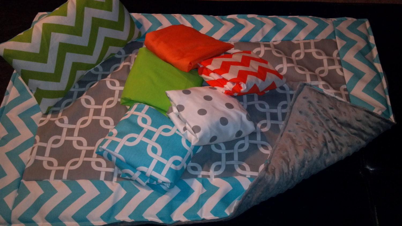 Luxus baby bettwäsche set für babybett bett teddy und herz