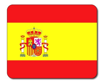 Spanish Flag Mouse Mat Mouse Pad