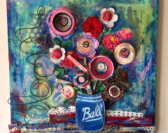 Bloom on Canvas