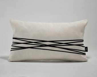 w. Ivory Cushion Cover. cm 50 x 30
