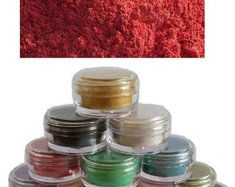 pearl ex red perlescents mica pigments