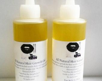 DEAL 16oz all natural hair growth oil