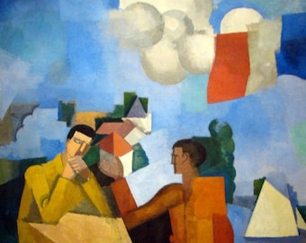 """Laminated placemat La Fresnaye """"The wild Air"""""""