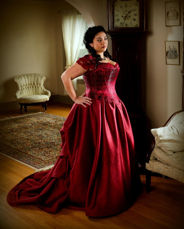 Plus Korsett Brautkleid Größe enthält tummelten lange Zug