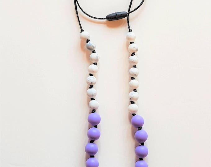 Round Bead Teething Necklace