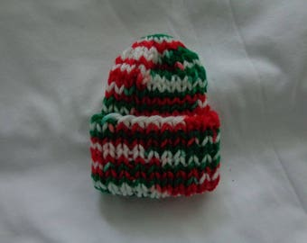 The Best Hand-Knitted, Made with Love, Christmas Preemie Hats