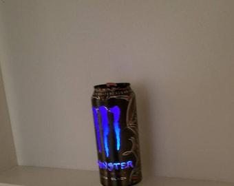 Monster Energy drink Can light (Black)