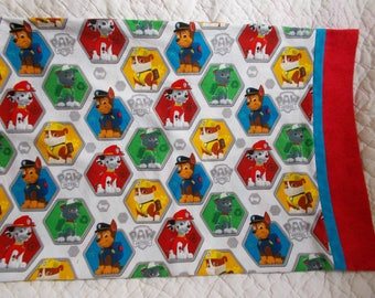Paw Patrol Childrens or Travel  Pillow Case