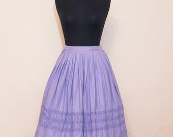 1950's lavender Bobbie Brooks  skirt