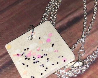 Jewelry, Concrete Jewelry, Concrete Jewelry Necklace, Cement Jewelry
