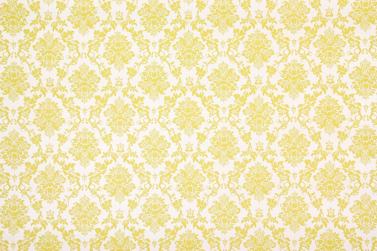 Description This Listing Is For One Yard Of This Vintage Wallpaper