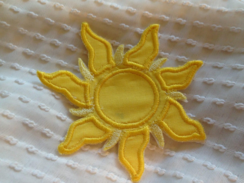Tangled Sun Patch