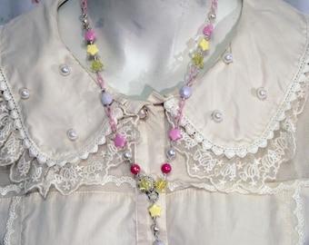 Sweet Lolita Fairy Kei Ice Cream Necklace