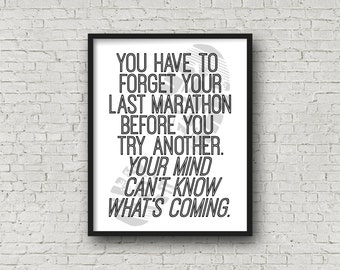 Marathon Quote, Running, Running Gifts, Gift For Runner, Marathon, Marathon Gifts, Cross Country, Track And Field, Gift For Coach, XC, Track