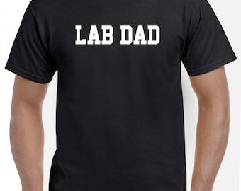 Lab Dad Shirt Tshirt Gift Black Lab Yellow Lab Labrador Retriever