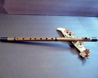 Shinobue Japanese Flute. Key of  A#. Bitter Bamboo