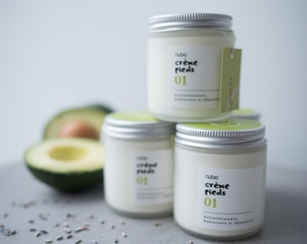 Organic nº01 foot cream. Avocado. 120 ml