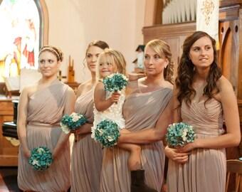Bridesmaids hydrangea bouquet, customizable
