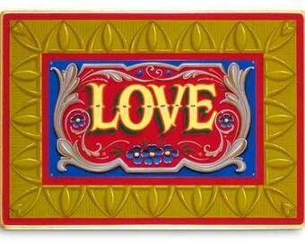 Love - Poster - Sign painting, fileteado