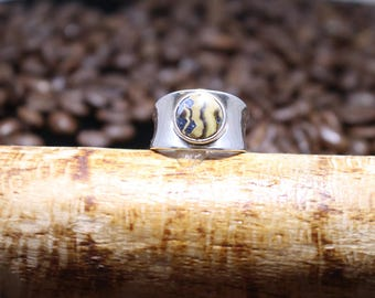 Schelanblende and Sterling Silver Ring sz8