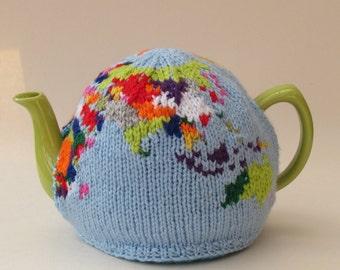 Globe Tea Cosy Knitting Pattern