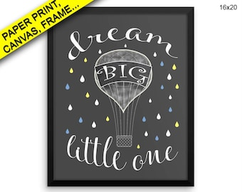 Little One Canvas Art Little One Printed Little One Nursery Art Little One Nursery Print Little One Framed Art Little One nursery poster