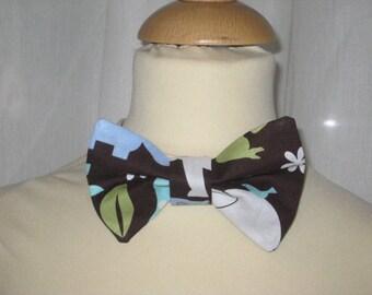 "Bow tie cotton ""Wildlife"""