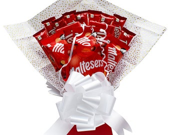 Maltesers Chocolate Bouquet - Chocolate Hamper - Birthday Gift - Perfect Gift - Chocolate Gift - Anniversary - Gift For Her - Gift For Him