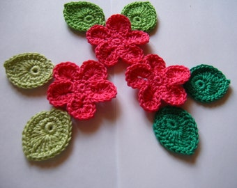 Flowers and leaves / set 1