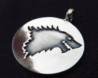 Silver House Stark pendant