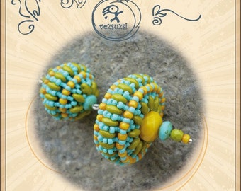Beaded Bead Pattern / tutorial Bohus with Twin - PDF instruction for personal use only