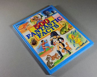 Children's Hardcover Book, 500 Fantastic Facts, Anne McKie and Angela Royston, Educational Book, Non-Fiction, Learning Tool