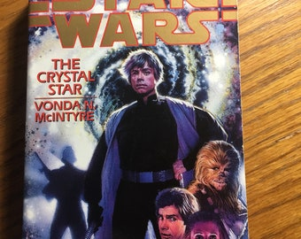 Star Wars The Crystal Star paperback