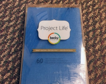 Project Life Textured Cardstock Kraft Edition 4x6