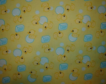 Per yard, Little Duckies Fabric From David Textiles