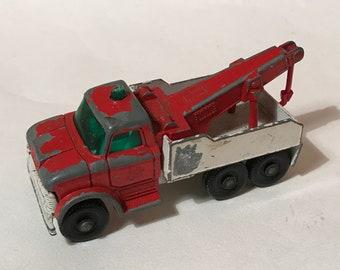 No71 Ford Heavy Wreck Truck Vintage Lesney Matchbox 1970