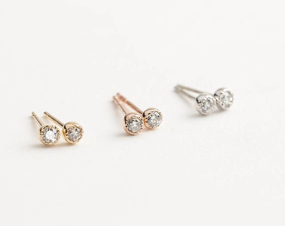 stud screwback earrings gold allezgisele plated luxury new silver toddler children kids for earring diamond diamonds baby of