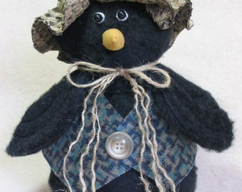 Crow's Feet -- Stuffed Fall Craft
