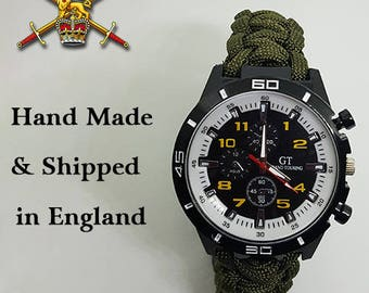 British Army Paracord Watch