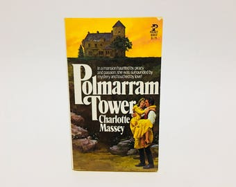 Vintage Gothic Romance Book Polmarram Tower by Charlotte Massey 1977 Paperback