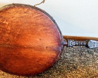 Buddhist Tantric Ritual Dhangro Dhami Phurba Drum