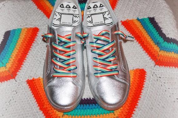 Rainbow Rabbit laces