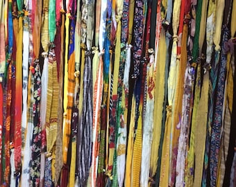 Bohemian curtains all colors with more shades of yellow