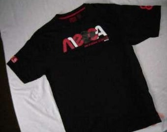 MECCA jersey, vintage 90s hip-hop clothing, 1990s hip hop shirt, OG, gangsta rap, size XXL 2XL